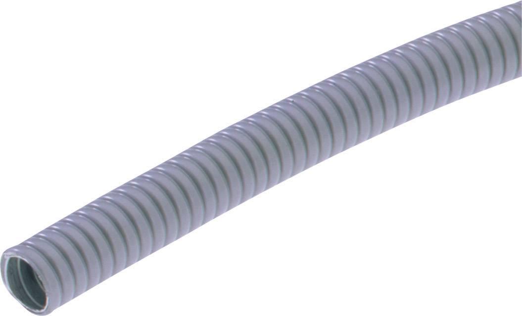Ochranná hadice na kov LappKabel SILVYN® AS-P 11/13x17 GY 64400120, 13 mm, šedá, 2.5 m