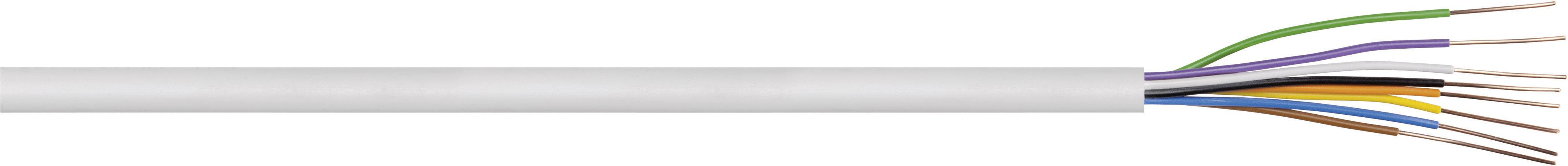 Zvonkový kabel LappKabel 49900270, bílá, 1 m