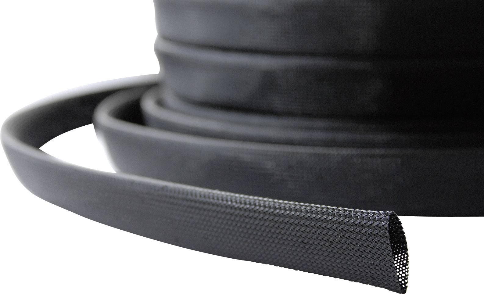 Ochranný oplet LappKabel SILVYN® BRAID PA6 NW, 10 do 14 mm, -55 do +125 °C, 15 m, čierna