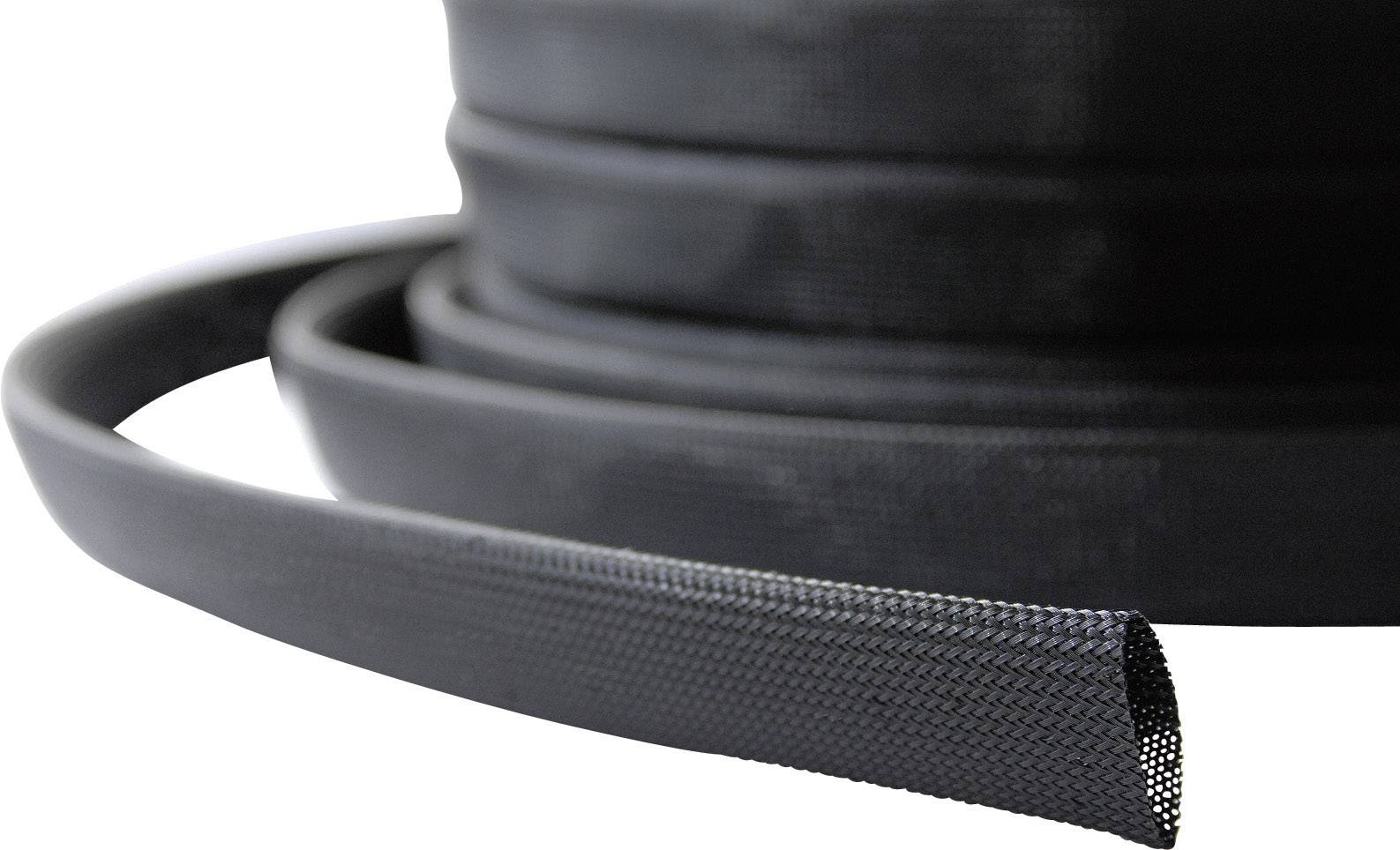 Ochranný oplet LappKabel SILVYN® BRAID PA6 NW, 14 do 24 mm, -55 do +125 °C, 15 m, čierna