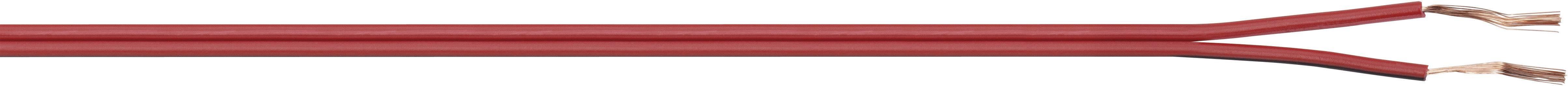 Opletenie / lanko LiY-Z LappKabel LiY-Z, 2 x 0.38 mm², červená, červenočierna, metrový tovar