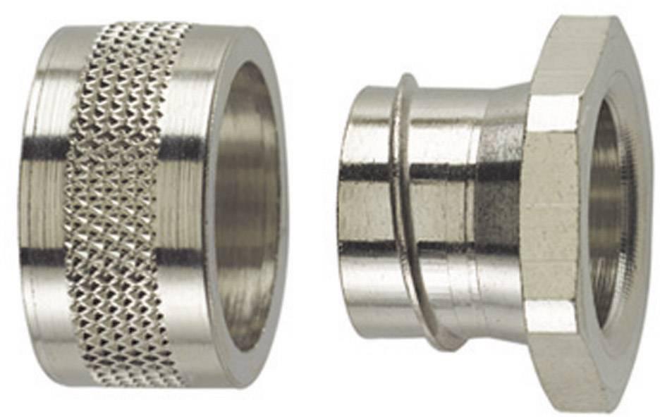 Koncový uzávěr rovná HellermannTyton SC16-PC 166-30502, 13 mm, kov, 1 ks
