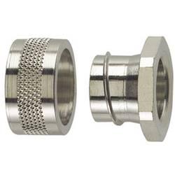 Koncový uzávěr rovná HellermannTyton SC50-PC 166-30507, 48.40 mm, kov, 1 ks