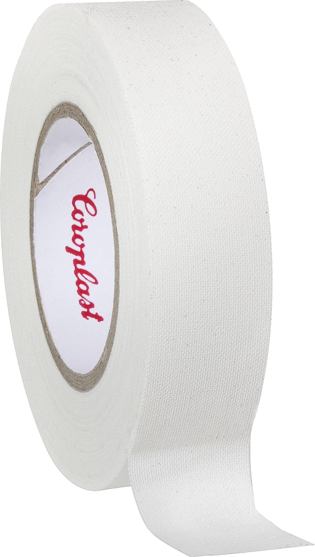 Páska so skleným vláknom Coroplast 16538 16538, (d x š) 10 m x 19 mm, biela, 1 roliek