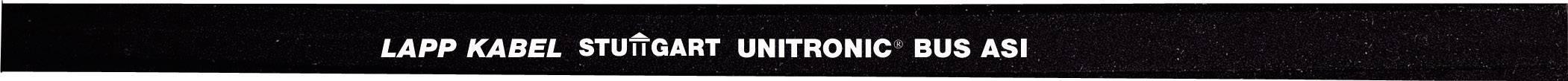 Zbernicový kábel LappKabel UNITRONIC® BUS 2170372, čierna, metrový tovar