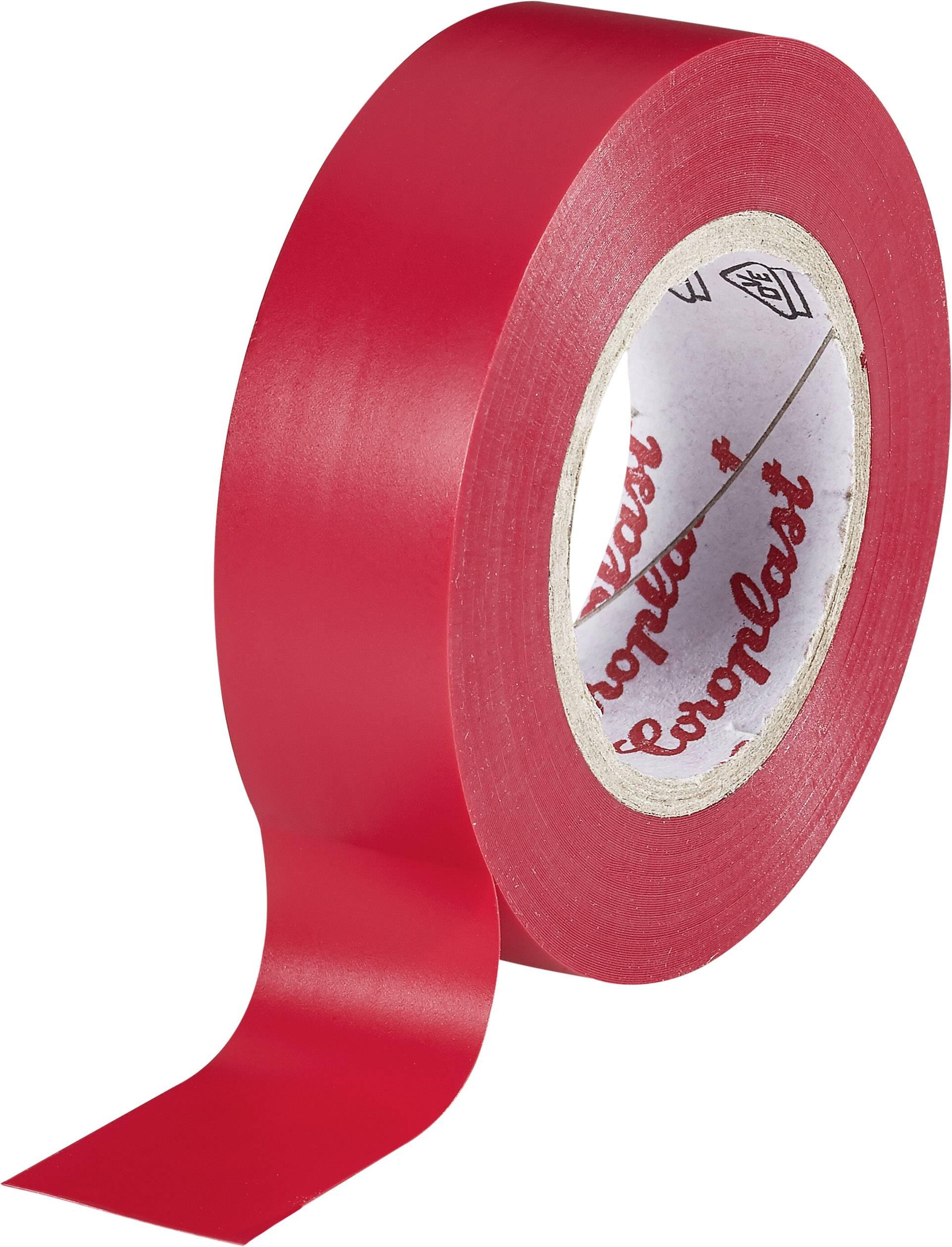 Izolačná páska Coroplast 302 302, (d x š) 10 m x 19 mm, červená, 1 roliek
