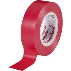Izolační páska Coroplast, 302, 15 mm x 10 m, červená