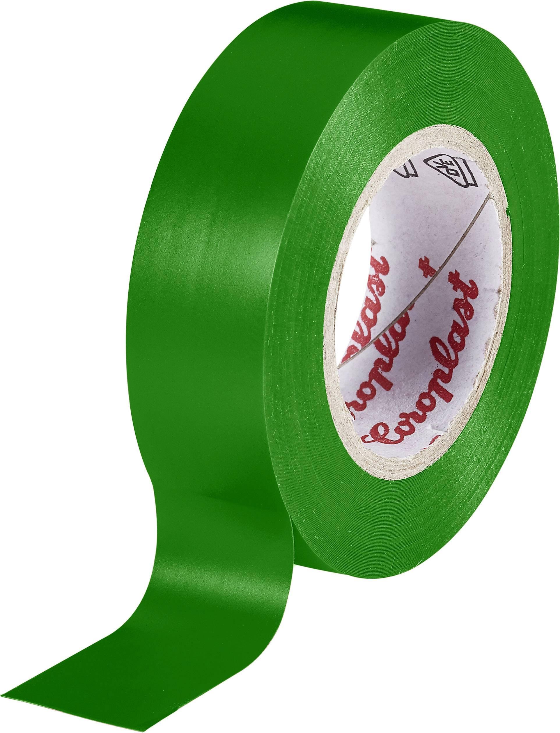 Izolačná páska Coroplast 302 302, (d x š) 10 m x 15 mm, zelená, 1 roliek