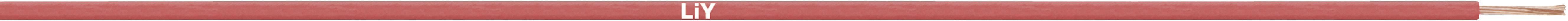 Opletenie / lanko LappKabel 4125001S LiY, 1 x 0.14 mm², vonkajší Ø 1.10 mm, metrový tovar, čierna