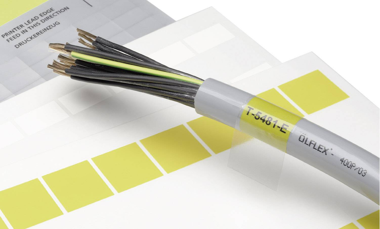 Etikety LappKabel LCK-45 WH (83256149), bílá