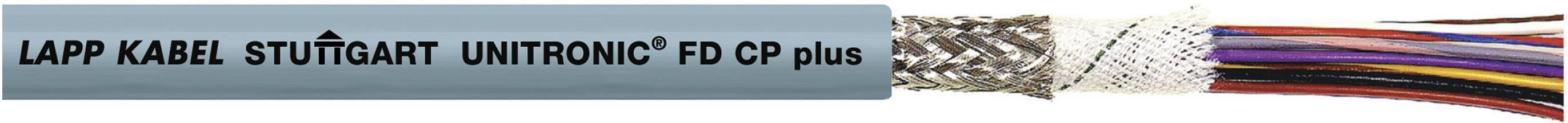 Datový kabel LappKabel UNITRONIC FD CP PLUS 18X0,25 (0028896), 18x 0,25 mm², Ø 9,1 mm, stíněný, 100 m, šedá