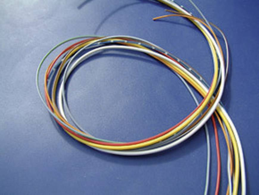 Kabel pro automotive KBE FLRY, 1 x 1,5 mm², žlutý