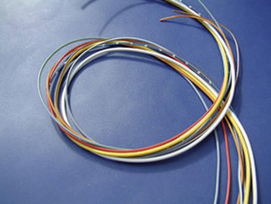 Kabel pro automotive KBE FLRY, 1 x 6 mm², červený