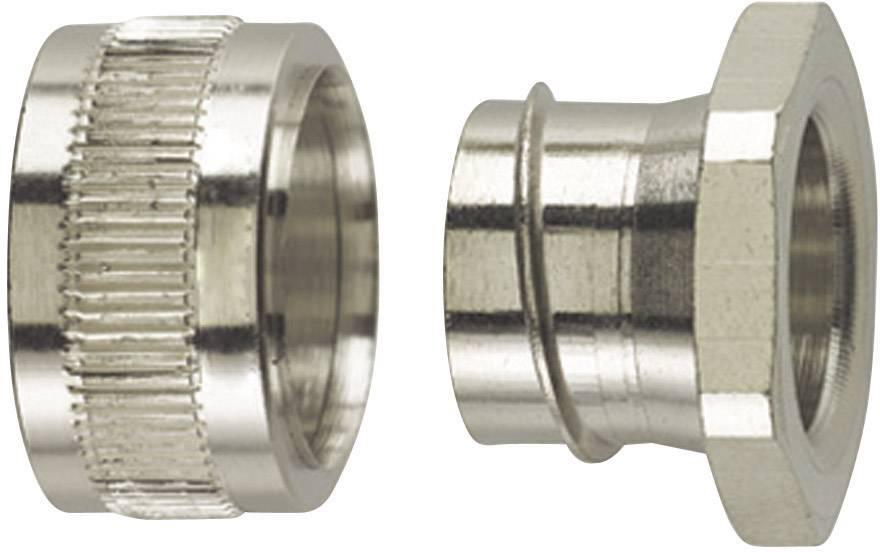 Koncový uzávěr rovná HellermannTyton PCS16-PC 166-31202, M20, 13 mm, kov, 1 ks