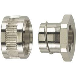 Koncový uzávěr rovná HellermannTyton PCS20-PC 166-31203, M20, 16.90 mm, kov, 1 ks