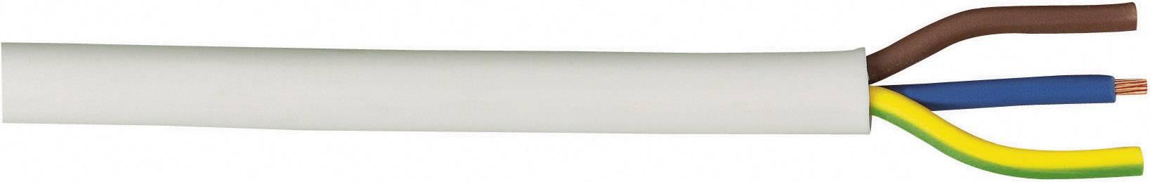 Vícežílový kabel LAPP H05VV-F, 49900078, 3 G 1.50 mm², bílá, 10 m