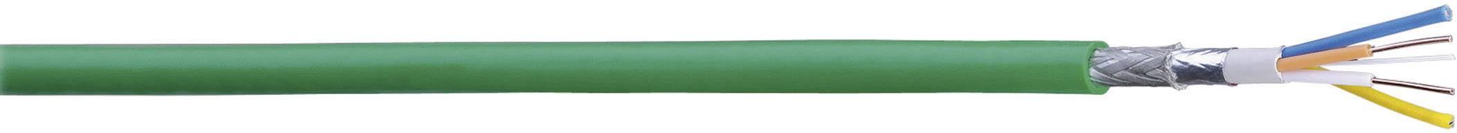 Sběrnicový kabel Belden 70007E.00500, vnější Ø 6.50 mm, zelená, metrové zboží
