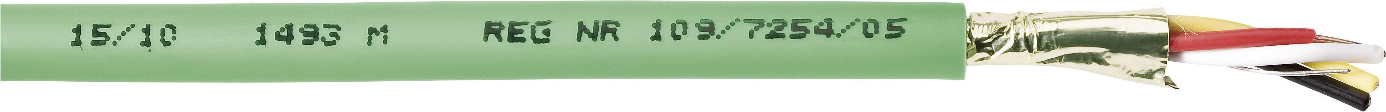 Zbernicový kábel Belden YE00906.00500, vnější Ø 6.30 mm, zelená, metrový tovar