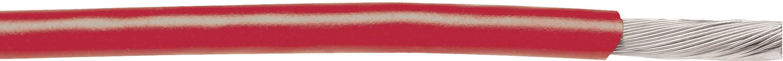 Licna AlphaWire 3051 RD001, 1x 0,32 mm², PVC, Ø 1,57 mm, 1 m, červená