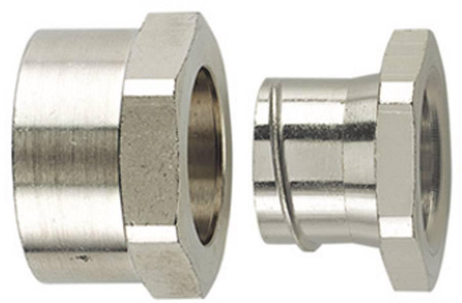 Koncový uzávěr HellermannTyton SCSB20-PC 166-34802, 16.90 mm, kov, 1 ks