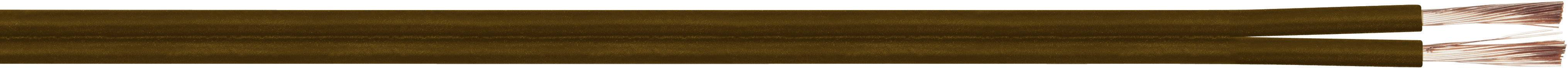 Opletenie / lanko LiY-Z LappKabel LiY-Z, 2 x 0.75 mm², hnedá, metrový tovar