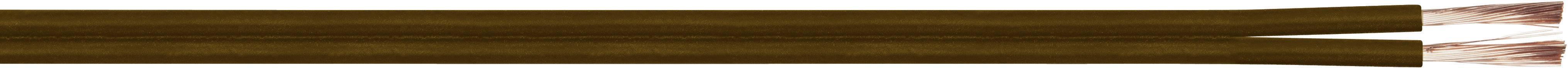 Opletenie / lanko LiY-Z LappKabel LiY-Z, 2 x 1.50 mm², hnedá, metrový tovar