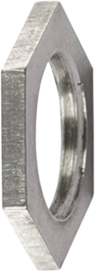 Pojistná matka HellermannTyton ALNPB-M16 166-50101, kov, 1 ks
