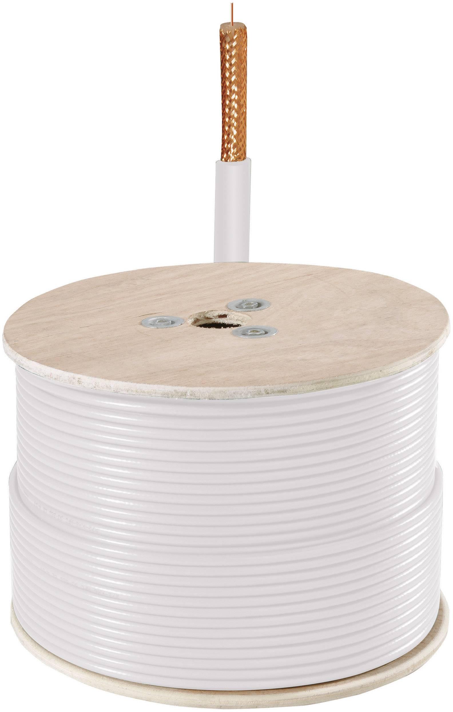 Video kábel ABUS TVAC40440, 1 x 0.22 mm², biela, 150 m