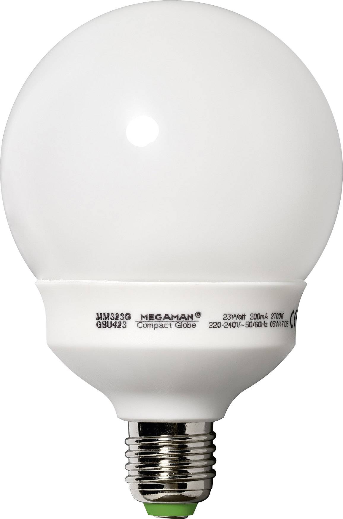 Úsporná žiarovka Megaman Compact Globe, E27, 23 W, guľatá