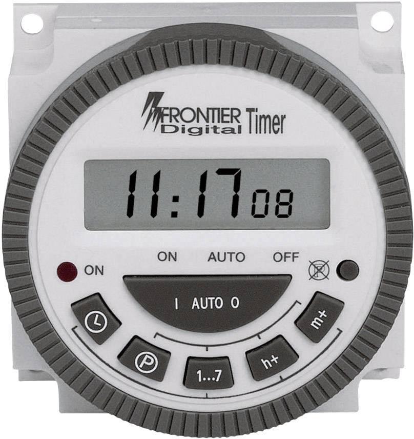 Zabudovateľnýčasovačnaomietku TM-619, 230 V/AC, 16 A/250 V