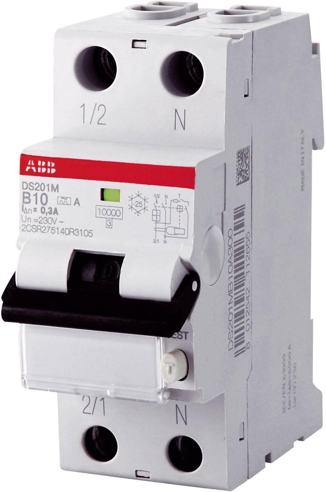 Prúdový chránič ABB 2CSR255140R1105, 2-pólový, 10 A, 0.03 A, 230 V