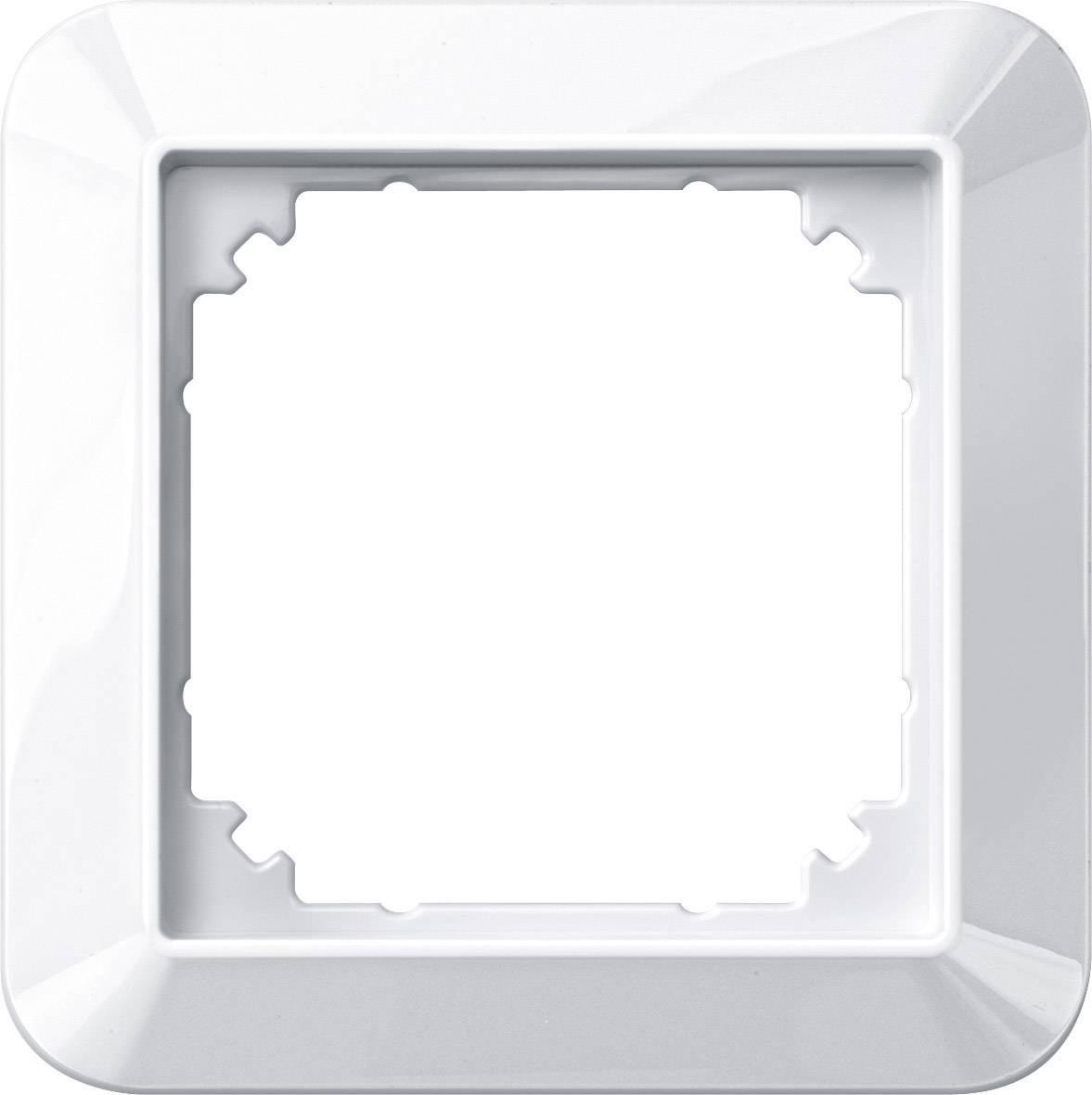 Rámeček 1násobný Merten M-1, polární bílá (389119)