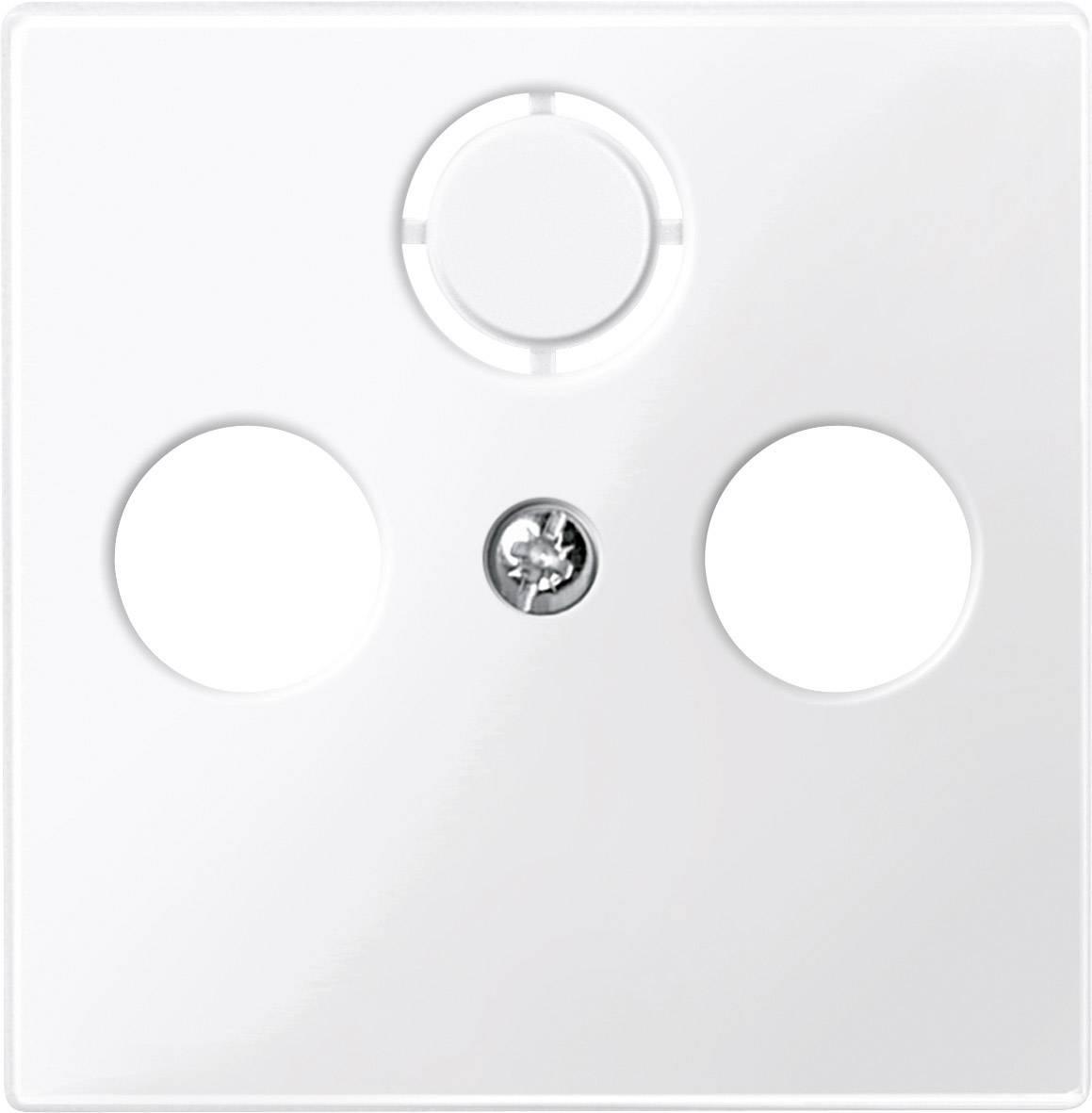 Kryt SAT zásuvky Merten, polární bílá (296719)