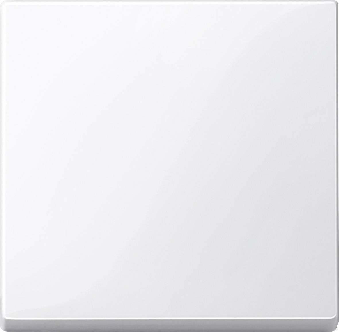 Kryt kolébkového vypínače Merten, polární bílá (432119)