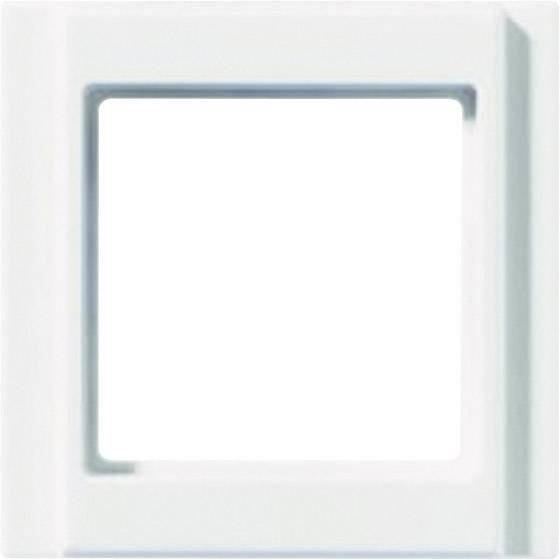 RÁMECEK JUNG A500, 1-DÍL,ALPSKÁ BÍLÁ