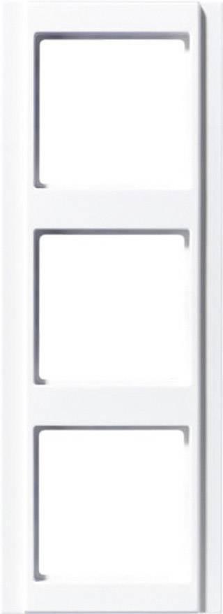 RÁMECEK JUNG A500, 3-DÍLNÝ,ALPSKÁ BÍLÁ