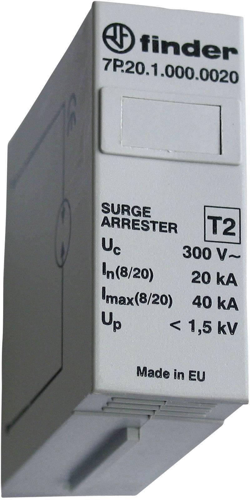 Finder Funkenstrecken-Schutzmodul 7P.20.1.000.0020, 20 kA