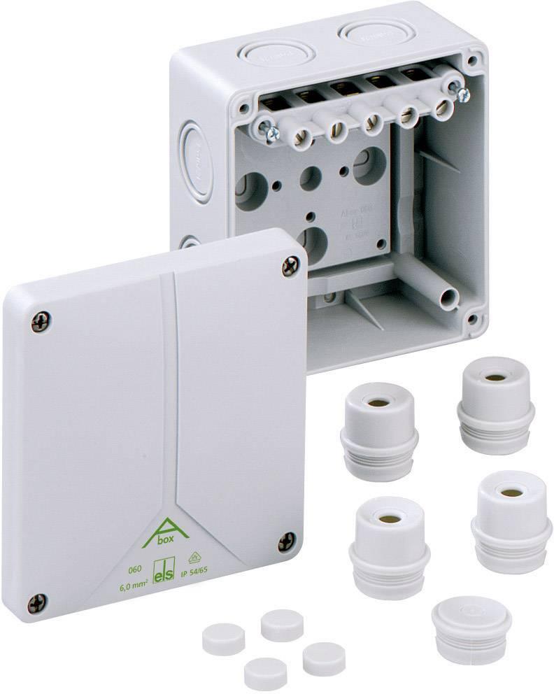Prepojovacia krabica Spelsberg Abox 060 - 62, IP65, sivá, 80640701