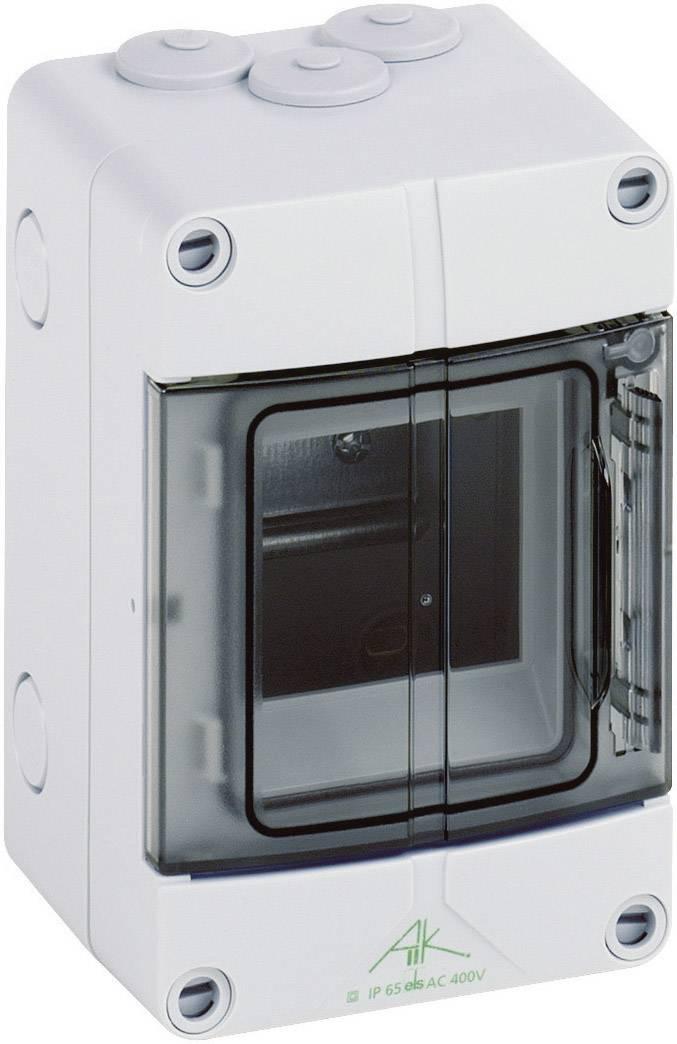 1řadá rozvodná skříň Spelsberg AK 03 na omítku, 3 moduly, IP65, 73540301