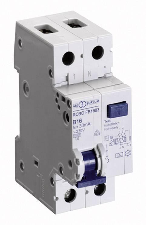 Prúdový chránič ABL Sursum RB1603, 1-pólový, 16 A, 0.03 A, 230 V