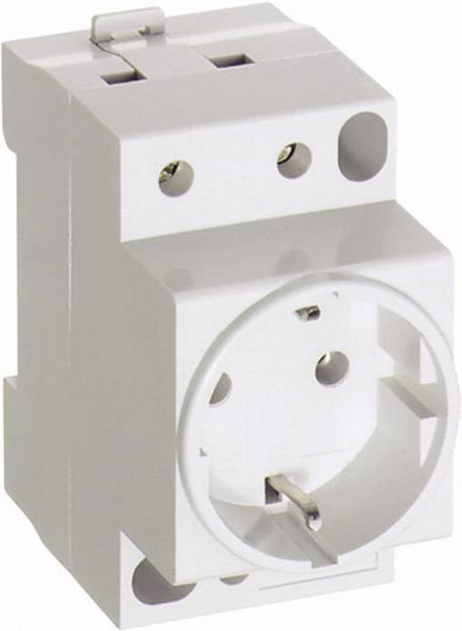 Zásuvka na DIN lištu ABL Sursum SD230, 16 A, 250 V, bez viečka