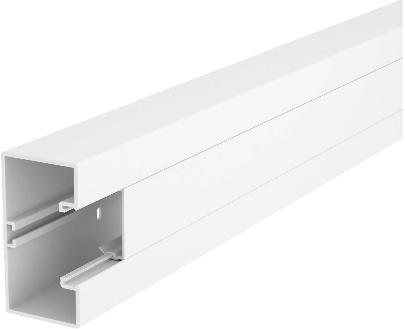 Lišta na kabely OBO Bettermann, 6116027, 100 x 53 mm, bílá