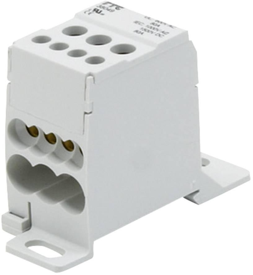 Blok pre rozdelenie fáz FTG Friedrich Göhringer 38049, 80 A, 1-pólový