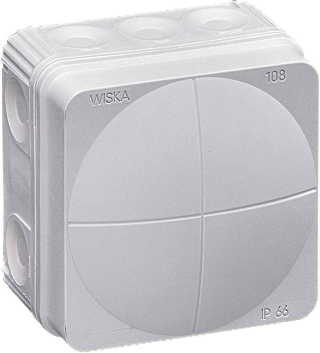 Rozbočovacia krabica Wiska Combi 108, IP66, sivá, 10060522