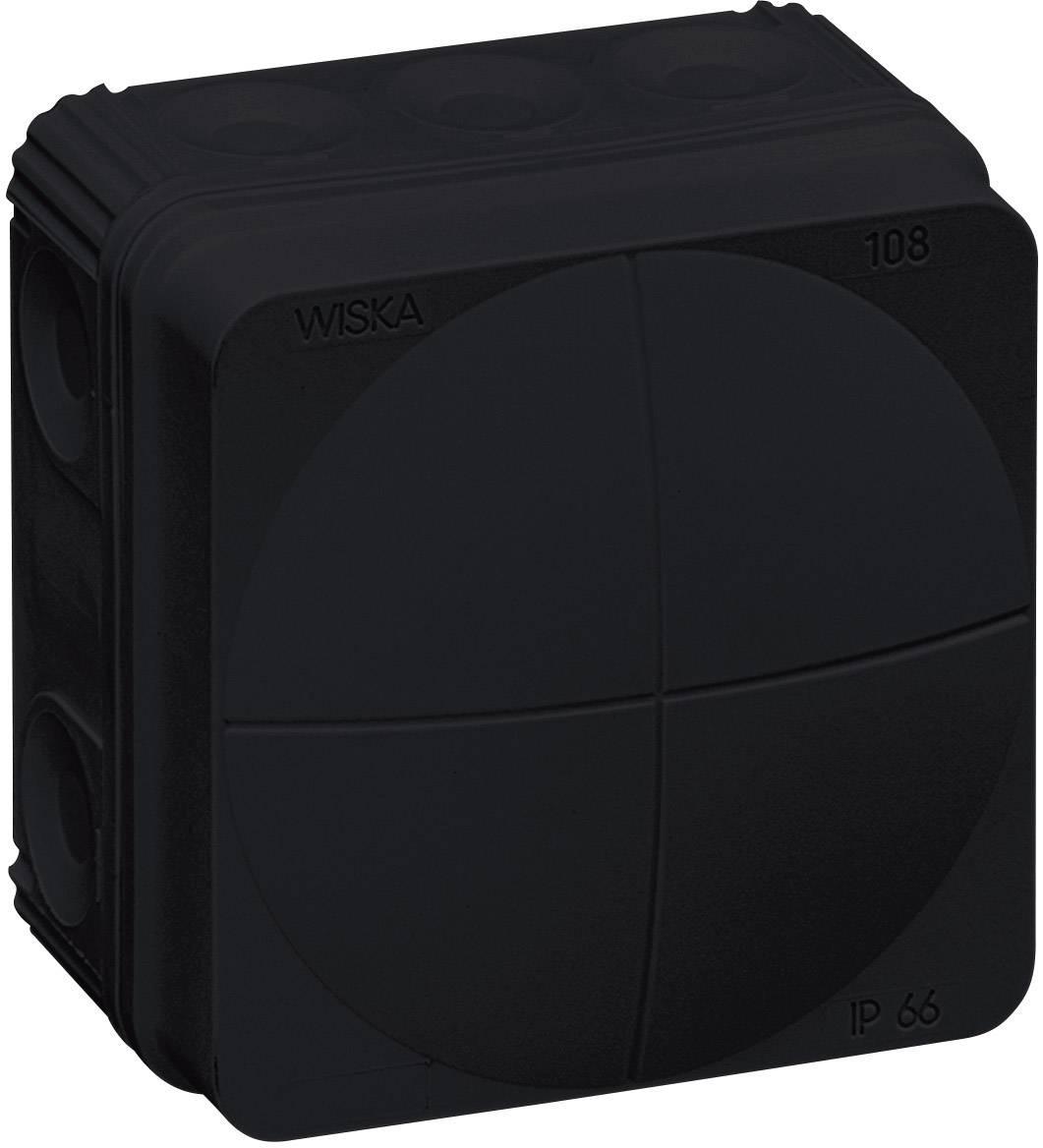 Rozbočovací krabice Wiska Combi 108, IP66, černá, 10061999