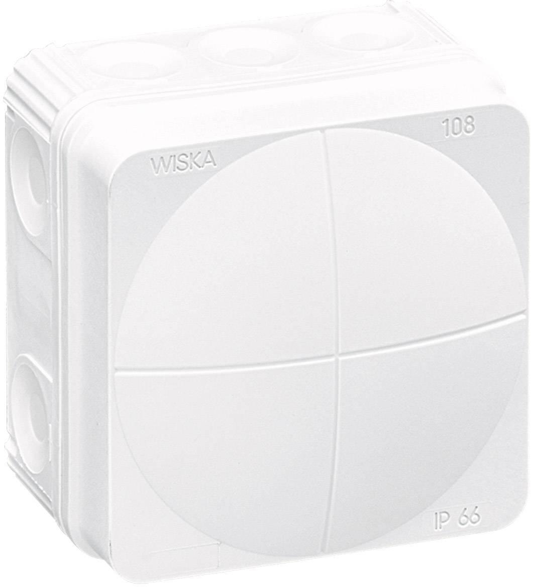 Rozbočovacia krabica Wiska Combi 108, IP66, biela, 10060622