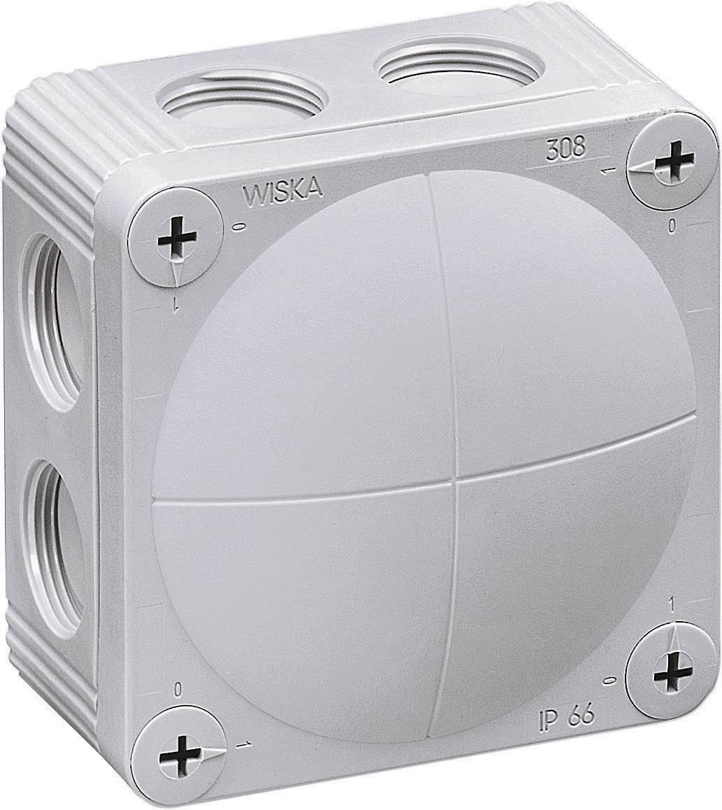 Rozbočovacia krabica Wiska Combi 308, IP66, sivá, 10060400