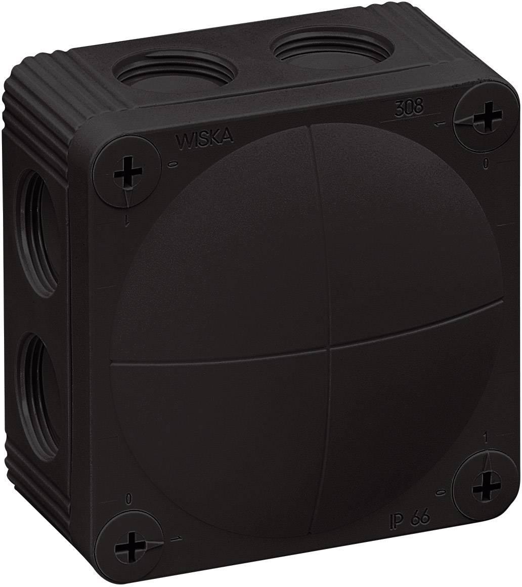 Rozbočovacia krabica Wiska Combi 308, IP66, čierna, 10060581