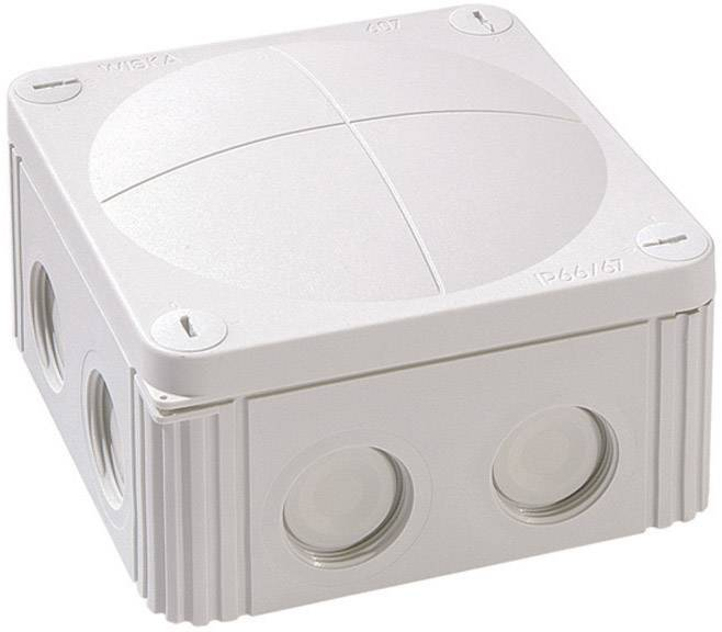 Rozbočovacia krabica Wiska Combi 607, IP66/IP67, sivá, 10060531