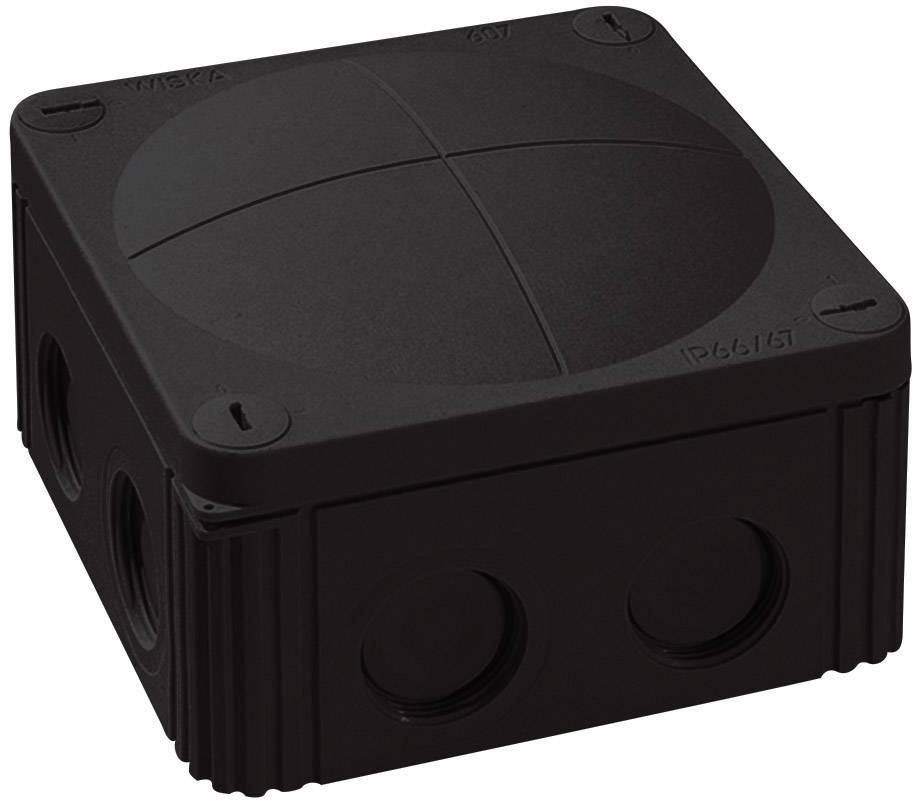Rozbočovacia krabica Wiska Combi 607, IP66/IP67, čierna, 10060648